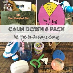 Calm Down 6pk collage