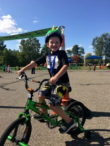 Riding a Bike with Dyspraxia