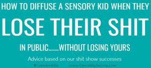 5 Steps to Diffusing Your Sensory Kid in Public