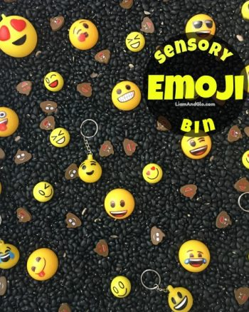 Emoji Sensory Bin