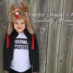 Figurative Language + Autism Teaching Moments