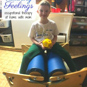 Occupational Therapy Obstacle Course: Recognizing Emotions + Faces