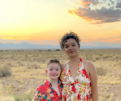 Liam and Glo Arizona desert