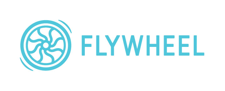 FlyWheel logo referral