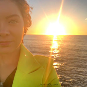 San Diego Sunset Selfie